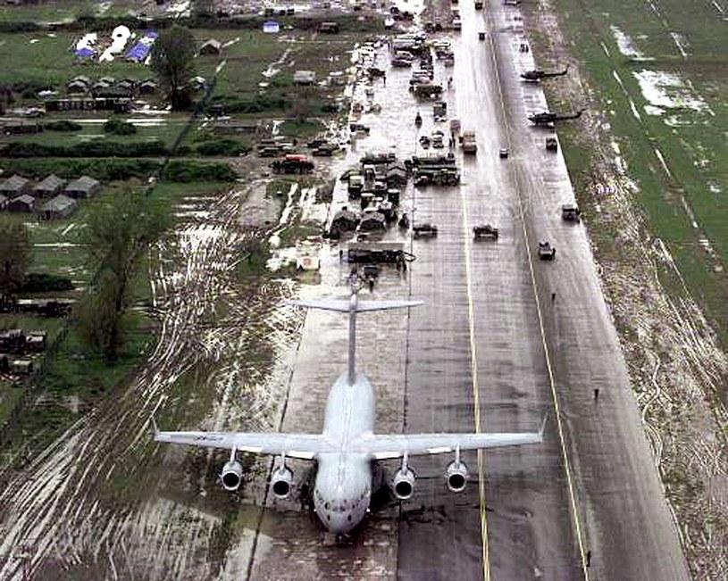 Boeing C-17 na lotnisku w Charleston /AFP
