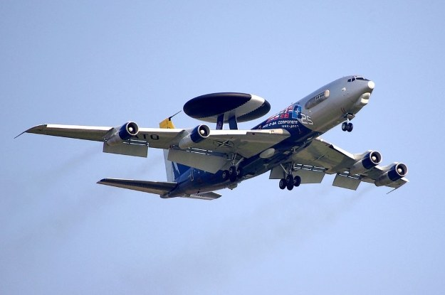 Boeing E-3 Sentry sił NATO.  Fot. Jakub Hałun /materiały prasowe