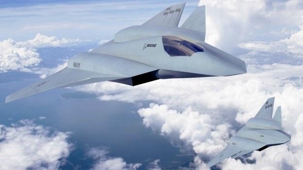 Boeing F/A-XX.   Fot. Boeing /materiały prasowe