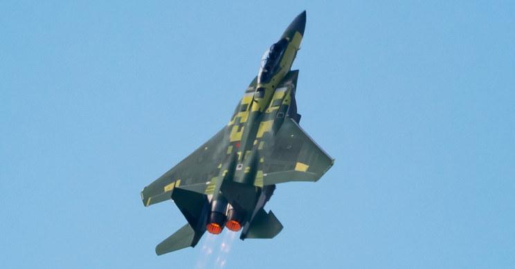 Boeing F15-EX z udanym lotem /materiały prasowe