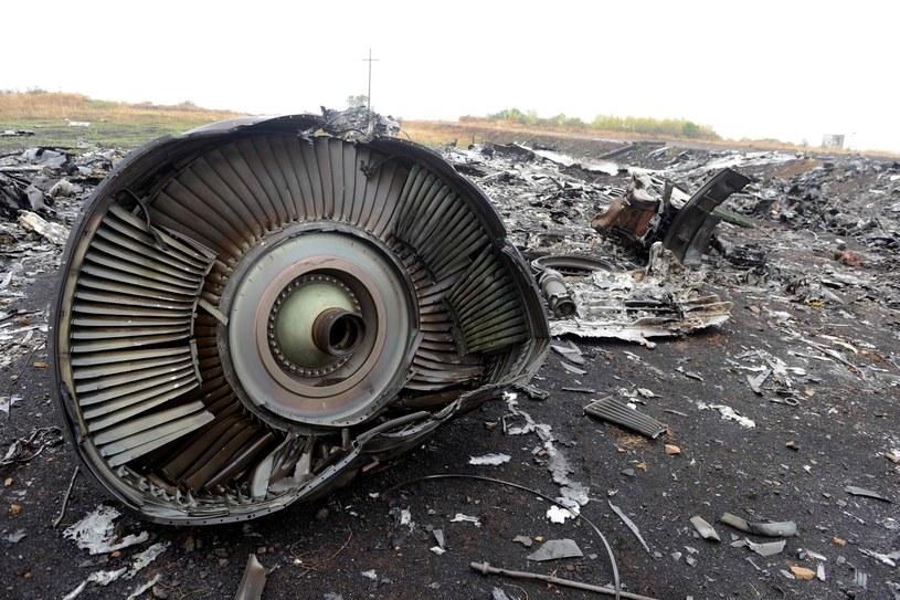 Boeing linii Malaysia Airlines, lot MH17, został zestrzelony nad wschodnią Ukrainą w 2014 roku /Alexander KHUDOTEPLY /AFP