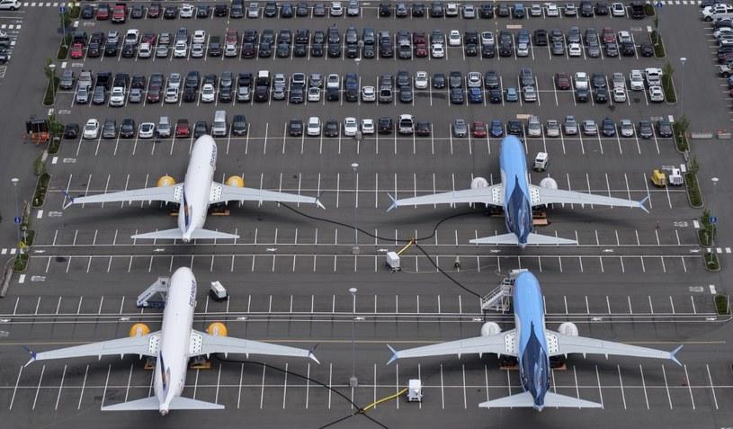 Boeinga 737 Max 8 na parkingu - linie lotnicze nie mają co z nimi robić /AFP
