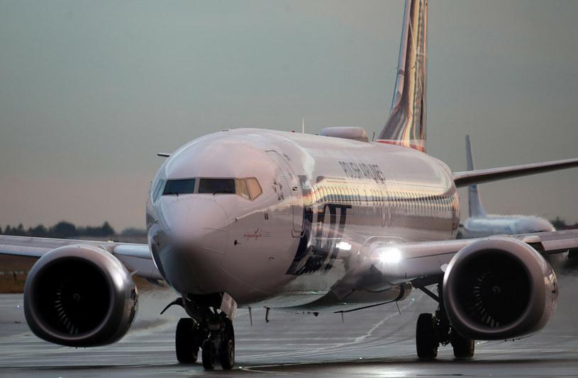 Boeingi 737 MAX wracają do lotów z pasażerami Lotu /Stanisław Kowalczuk /Agencja SE/East News