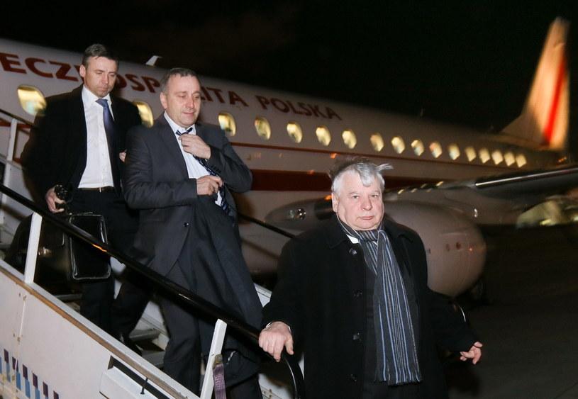 Bogdan Borusewicz (P) oraz poseł PO Grzegorz Schetyna /Paweł Supernak /AFP