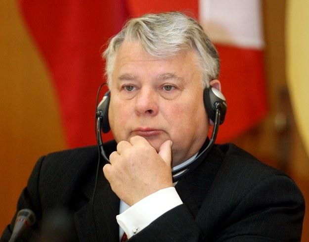 Bogdan Borusewicz. /AFP