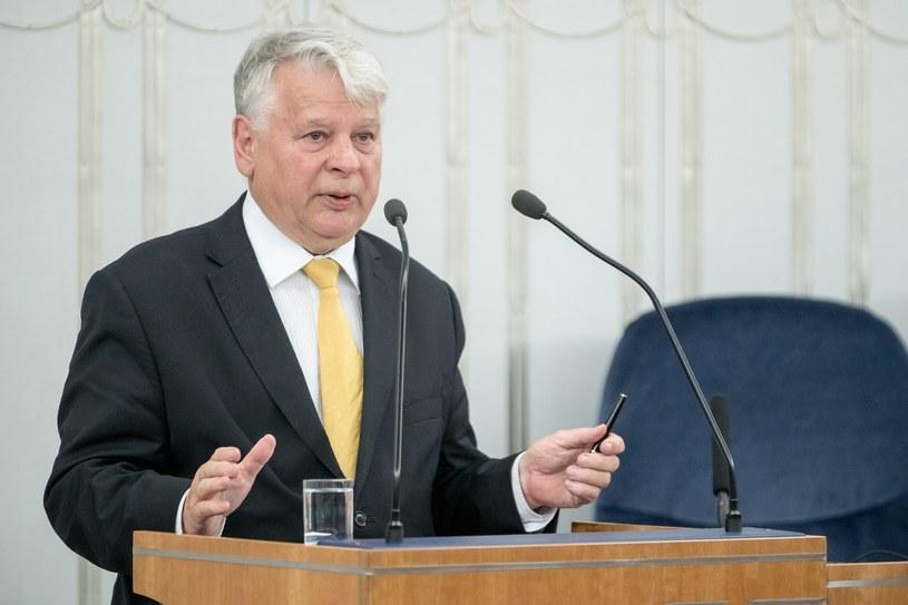 Bogdan Borusewicz /fot. Andrzej Iwanczuk /Reporter