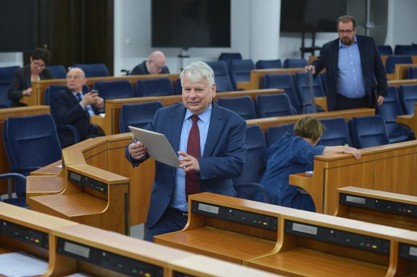 Bogdan Borusewicz / Marcin Obara  /PAP