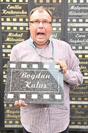 Bogdan Kalus został uhonorowany tablicą podczas Festiwalu Filmów Komediowych w Lubomierzu /  /MWMedia