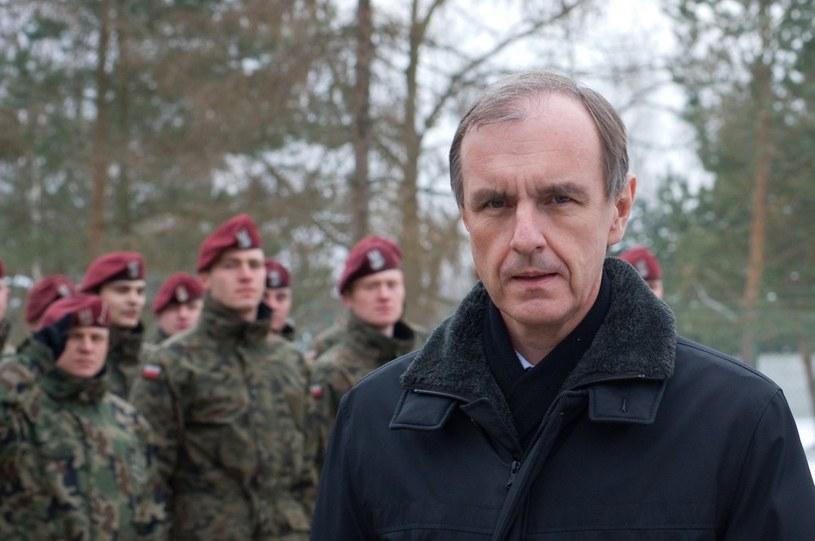 Bogdan Klich jako minister obrony /Tadeusz Koniarz /Reporter