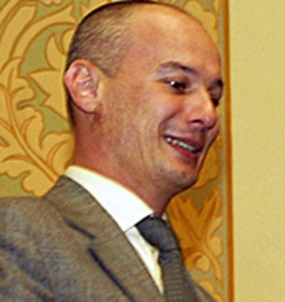 Bogdan Olteanu, wiceprezes banku centralnego Rumunii /AFP