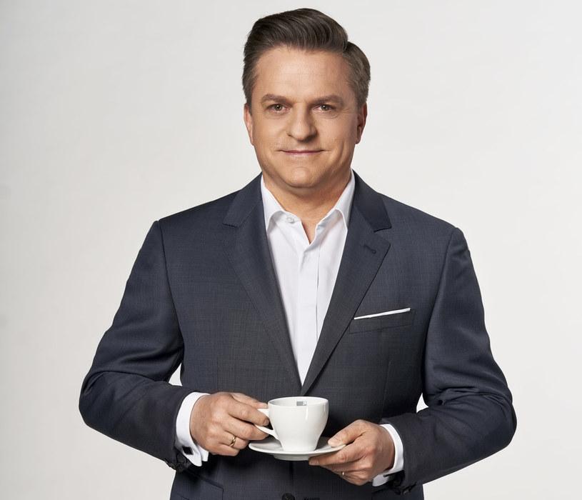 """Bogdan Rymanowski poprowadzi program """"Śniadanie w Polsat News i Interii"""" /Polsat"""