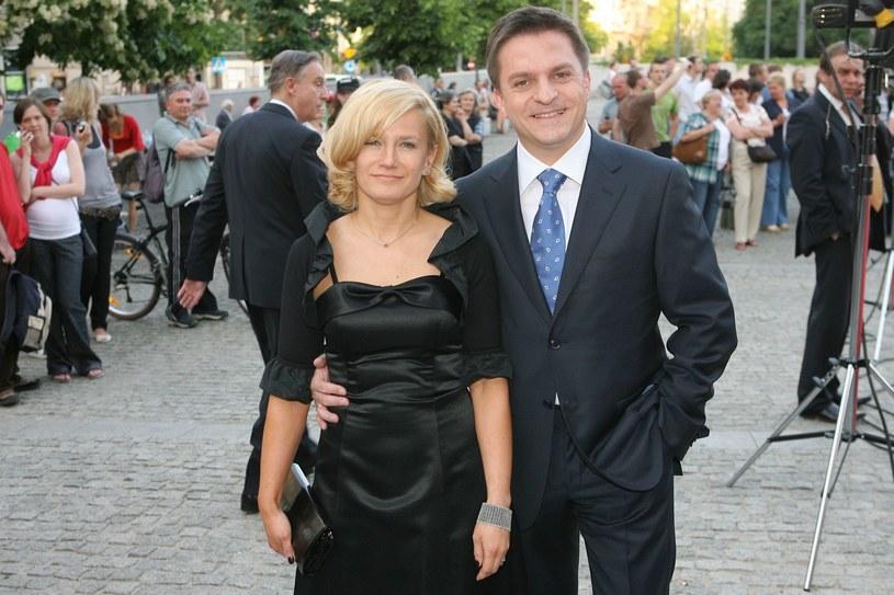 Bogdan Rymanowski z żoną /Wojciech Olszanka /East News