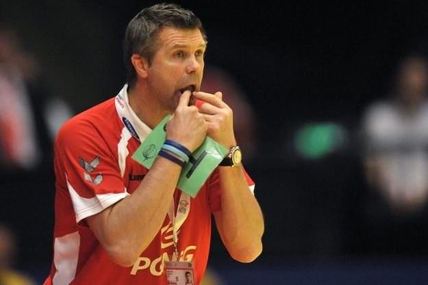 Bogdan Wenta, trener reprezentacji Polski w piłce ręcznej /AFP