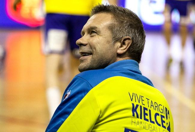 Bogdan Wenta, trener Vive Targów Kielce /Michał Walczak /PAP