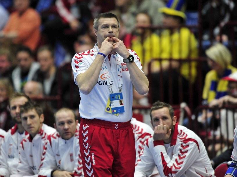 Bogdan Wenta w latach 2004-2012 był trenerem reprezentacji Polski /AFP