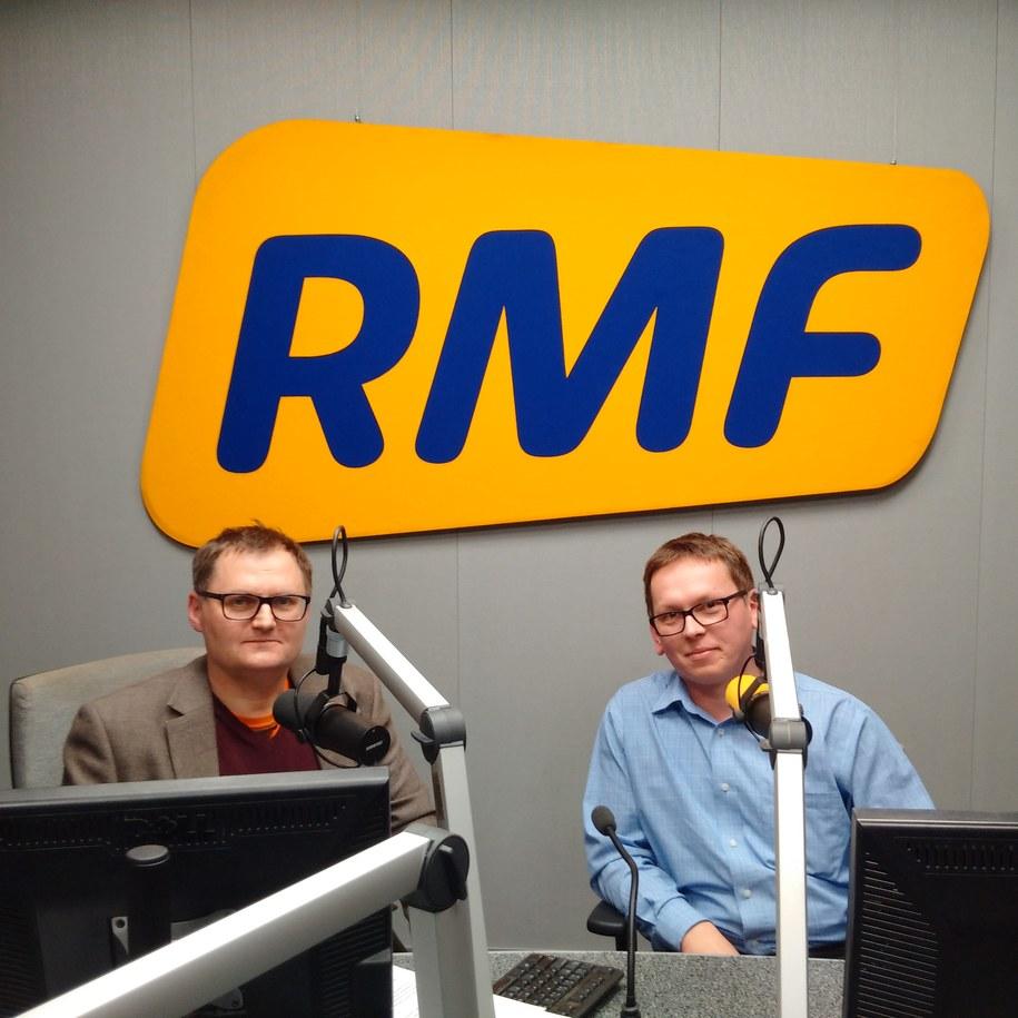 Bogdan Zalewski i Jacek Raczek /RMF FM