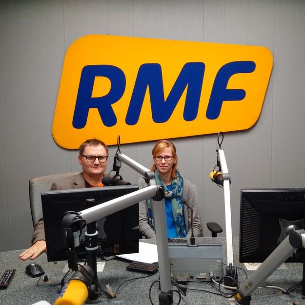 Bogdan Zalewski i Maria Łopatka /RMF FM