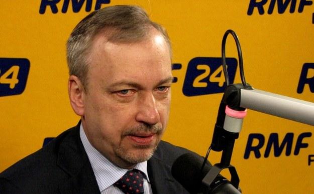 Bogdan Zdrojewski w studiu RMF FM /RMF