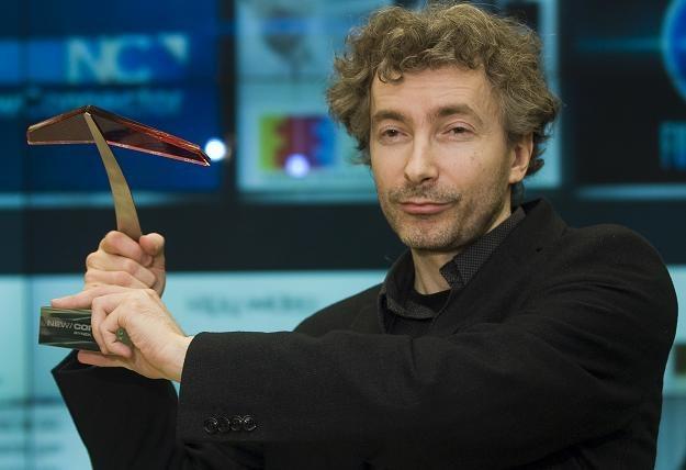 Bogusław Białoskórski, prezes PlayMakers, w trakcie debiutu na NewConnect /PAP