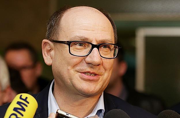 """Bogusław Hutek, szef górniczej """"Solidarności"""". Fot. Dominik Gajda /Reporter"""