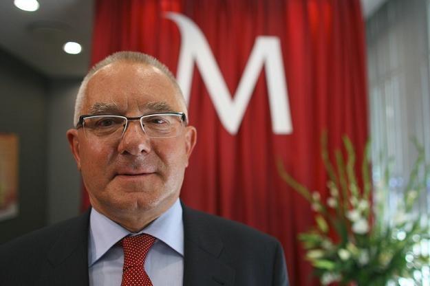 Boguslaw Kott, prezes Banku Millennium. Fot. Wojtek Kamiński /Reporter