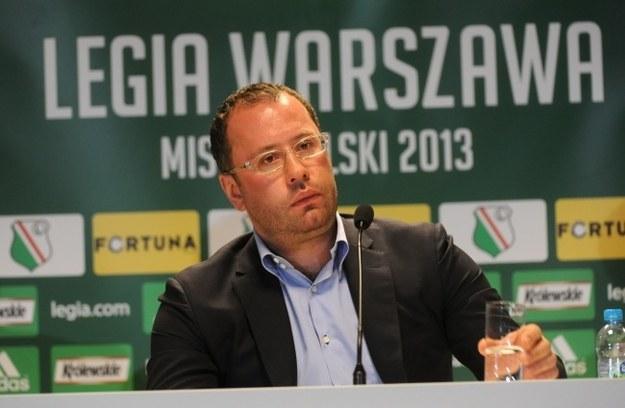 Bogusław Leśnodorski - prezes Legii Warszawa /Bartłomiej Zborowski /PAP