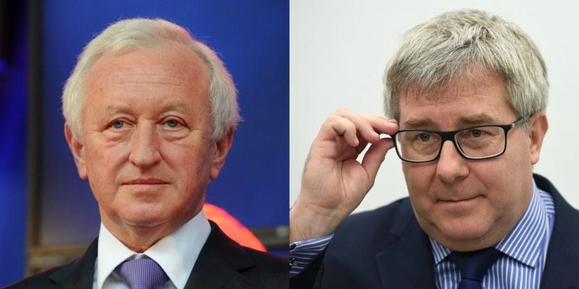 Bogusław Liberadzki i Ryszard Czarnecki /Marcin Bielecki/Radek Pietruszka /PAP