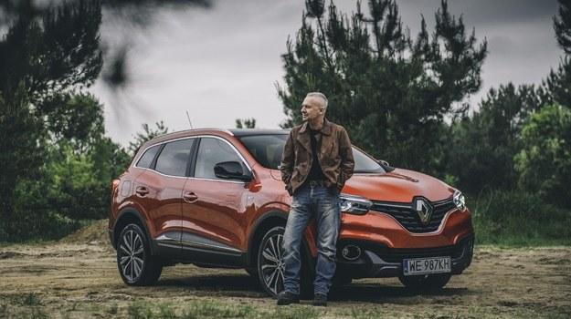 Bogusław Linda i Renault Kadjar /Renault