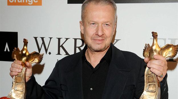Bogusław Linda nagrodzony został Złotą Kaczką za role, jakie stworzył w filmach Władysława Pasikowskiego. /Agencja W. Impact
