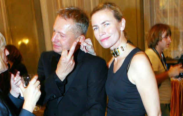Bogusław Linda z żoną, fot. Wojciech Olszanka  /East News