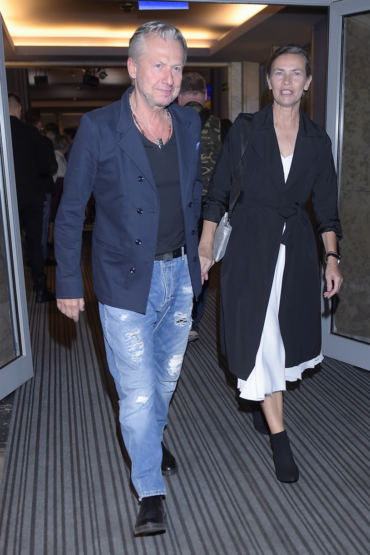 Bogusław Linda z żoną, Lidią Popiel /Niemiec /AKPA