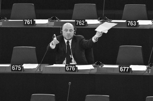 Bogusław Sonik w Parlamencie Europejskim /Wiktor Dabkowski    /Reporter