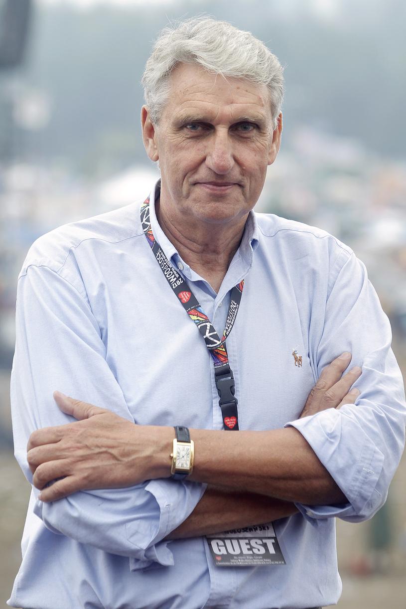 Bogusław Wołoszański lubi dzielić się swoją pasją. W 2012 roku był gościem Przystanku Woodstock /AKPA