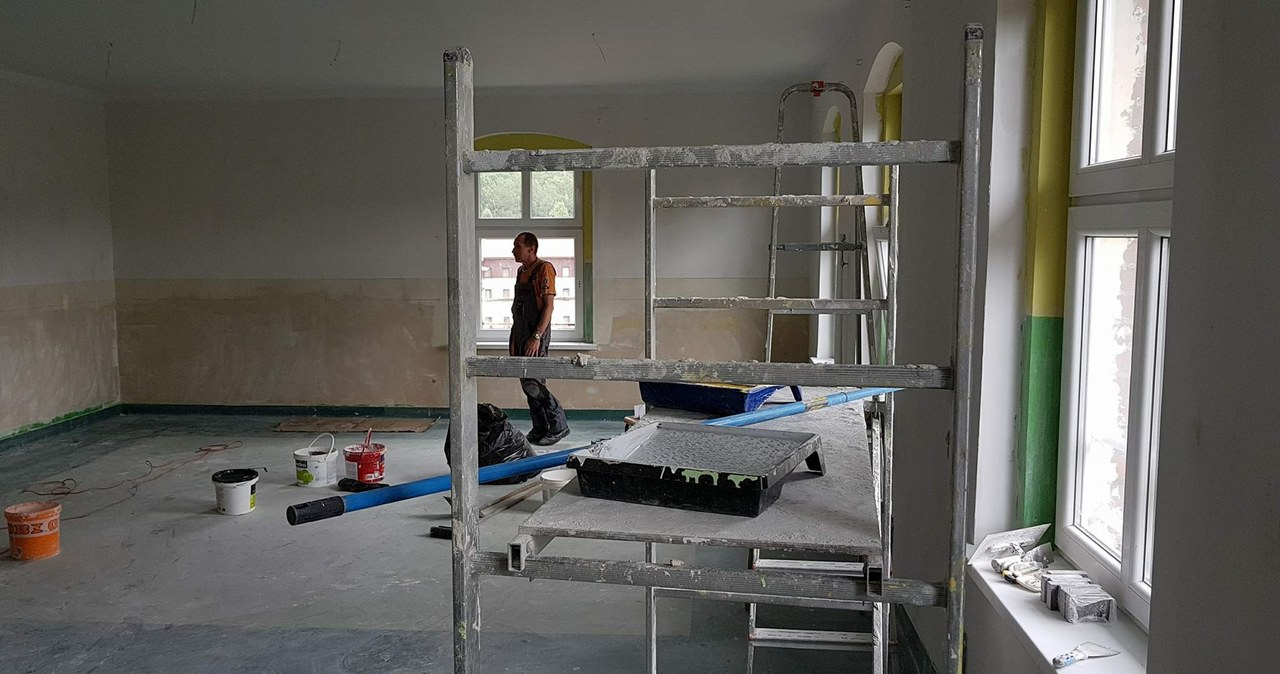 Boguszów-Gorce: Nowa pracownia w odremontowanej sali