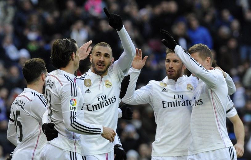 Bohater meczu, piłkarz Realu Madryt Karim Benzema /AFP