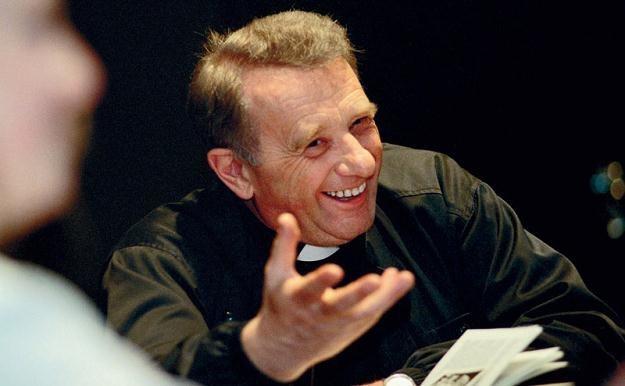 Bohaterem oryginalnej kampanii będzie m.in. świętej pamięci ks. Tischner/fot. Wojciech Druszcz /East News