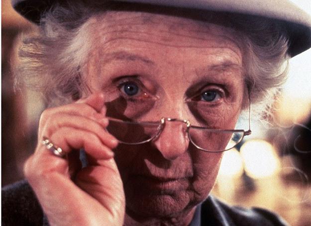 Bohaterka Agaty Christie - panna Marple /East News