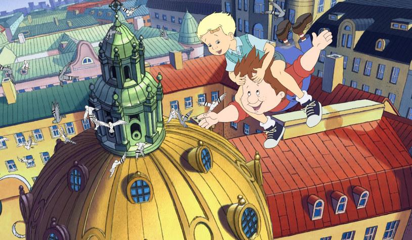 """Bohaterowie animacji """"Karlsson z dachu"""" /materiały dystrybutora"""