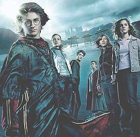 "Bohaterowie filmu ""Harry Potter i Czara Ognia"" /"