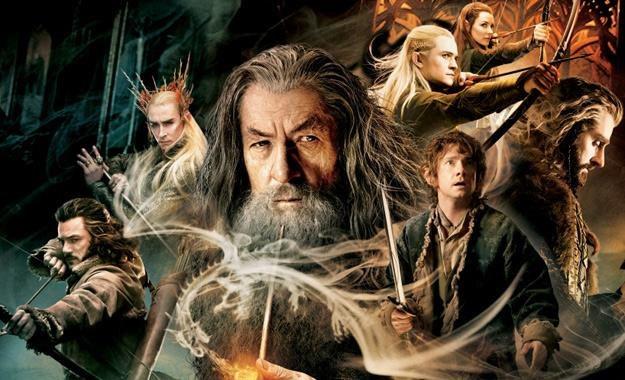 """Bohaterowie filmu """"Hobbit: Pustkowie Smauga"""" /materiały prasowe"""