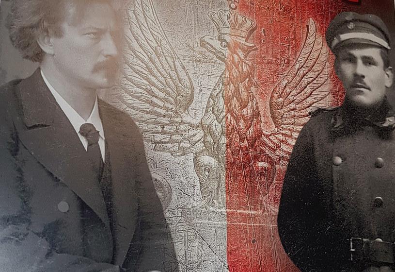 """Bohaterowie konkursu """"(Nie)Zapomniani bohaterowie"""" - Ignacy Jan Paderewski i Antoni Stawarz /INTERIA.PL"""