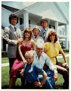 """Bohaterowie serialu """"Da;llas"""" - rodzina Ewingów /"""
