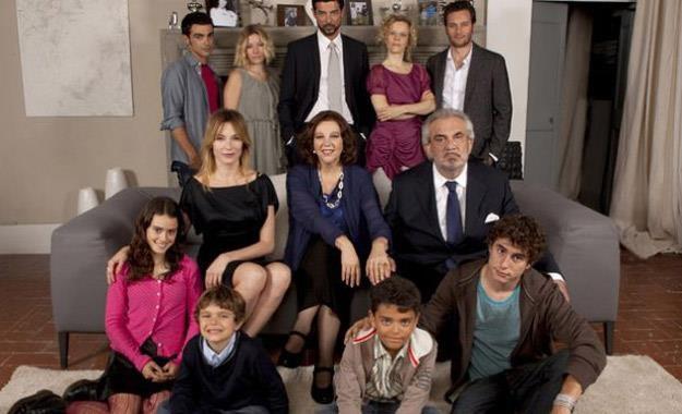 "Bohaterowie serialu ""Una grande famiglia"" /materiały prasowe"