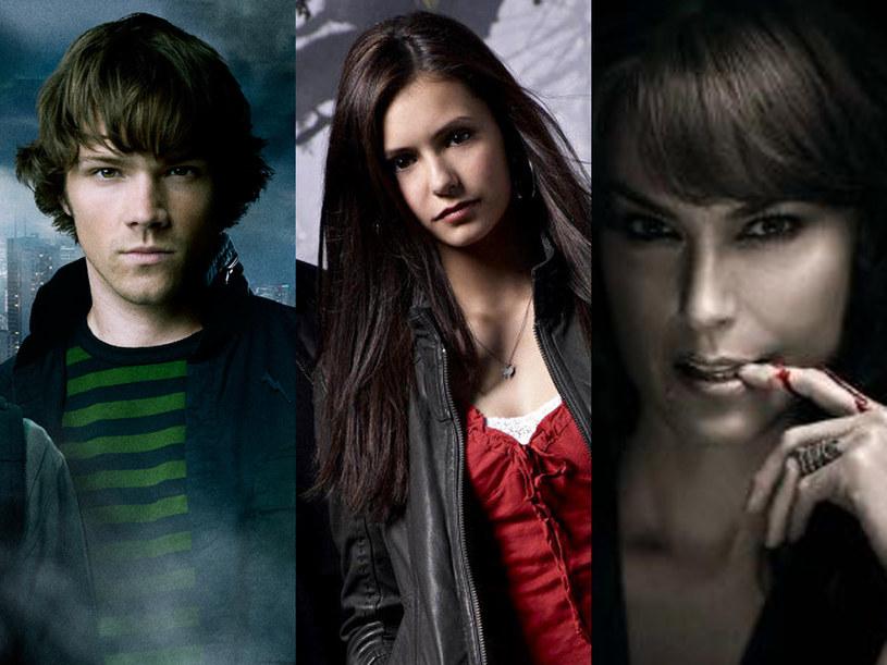 """Bohaterowie """"Supernatural"""", """"Pamiętników…"""" i """"Czystej krwi"""" napędzili niezłego stracha w ubiegłym roku. /materiały prasowe"""