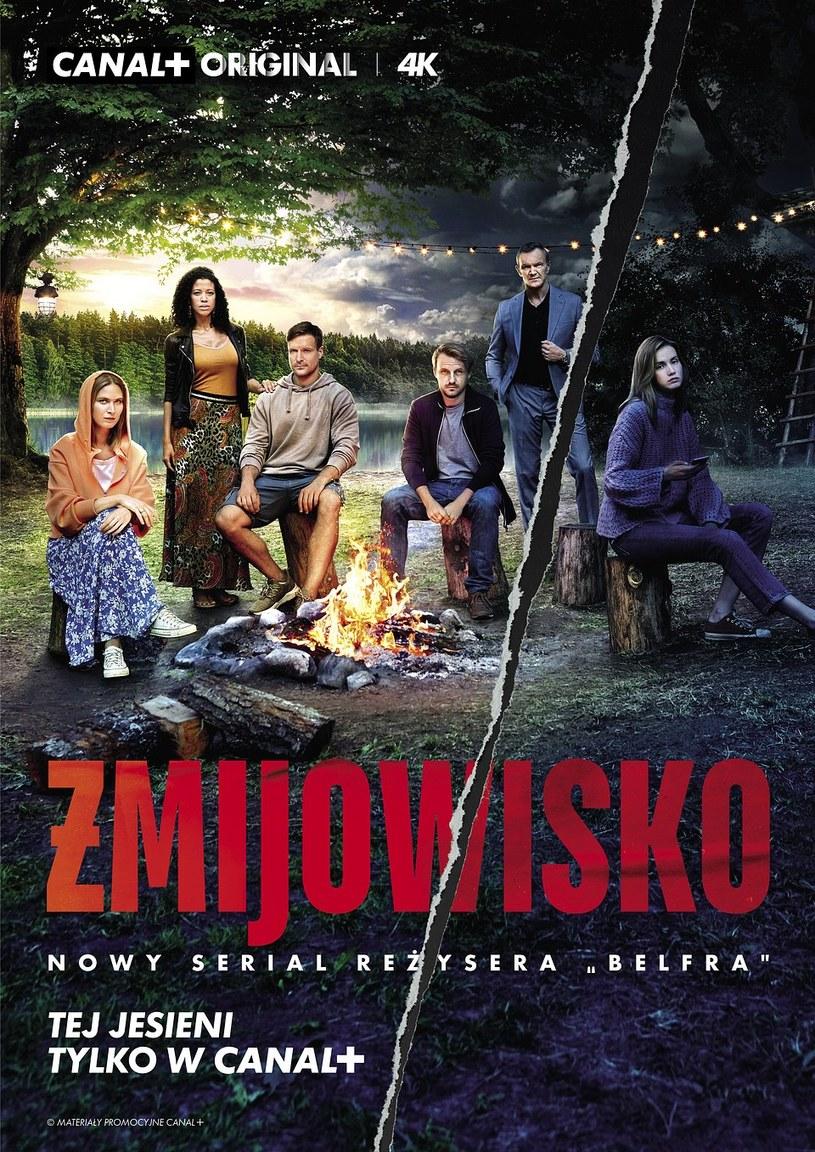 """Bohaterowie """"Żmijowiska"""" na plakacie produkcji /Canal+"""