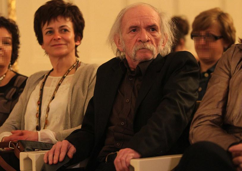 Bohdan Smoleń i Joanna Kubisa /PRZEMYSLAW SZYSZKA /East News