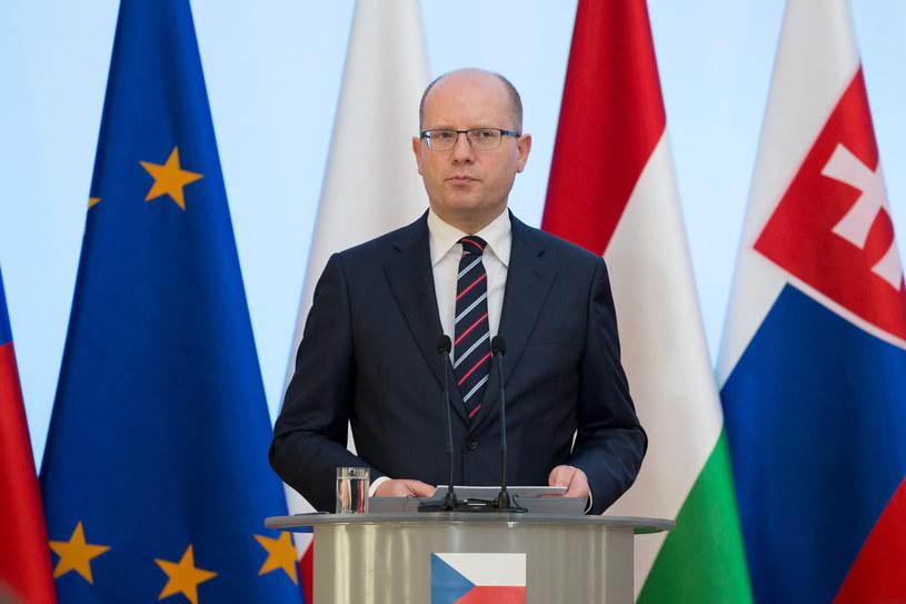 Bohuslav Sobotka /Mateusz Włodarczyk /Agencja FORUM