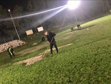 Boisko klubu PKS Radość znów zostało zrujnowane przez dziki