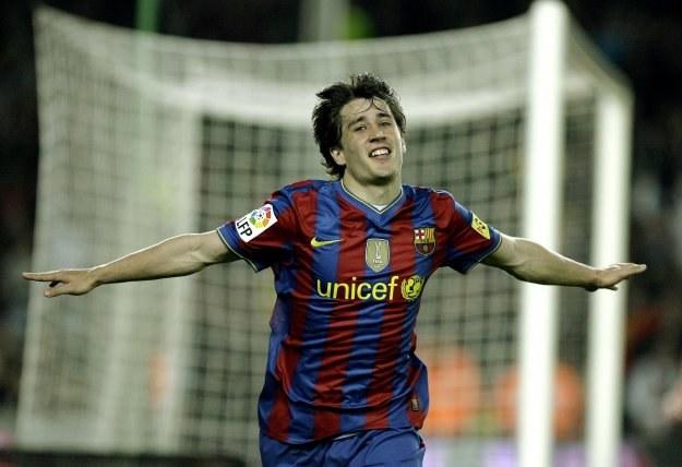 Bojan Krkić strzelił dwa gole dla Barcelony w meczu z Athletic Bilbao /AFP