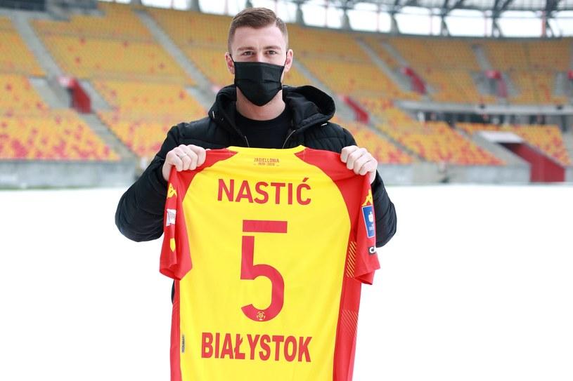 Bojan Nastić / KAMIL SWIRYDOWICZ / CYFRASPORT/NEWSPIX.PL /Newspix